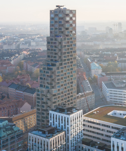 OMA inaugurates 'norra tornen' in stockholm with completion of innovationen tower