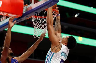 Highlights: Miles Bridges adds to dunk reel in Hornets' win over Pistons
