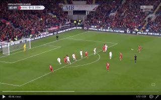 Video: Kasper Schmeichel denies Gareth Bale with potential save of the season contender