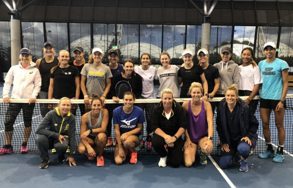 Dellacqua serves as mentor during WTA camp
