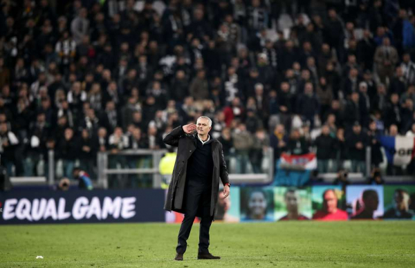Even rival fans couldn't stop laughing at Jose Mourinho's interview after Juve win