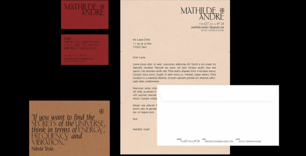 Mathilde André Self Branding
