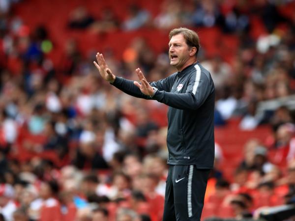 Southamptons charismatic Ralph Hasenhüttl makes an impression but plays down Jurgen Klopp comparison