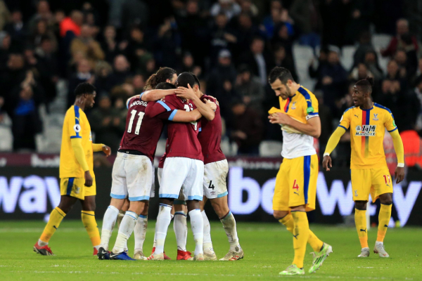 West Ham vs Crystal Palace analysis: Hodgsons thin squad costs him again with Pellegrinis process thriving