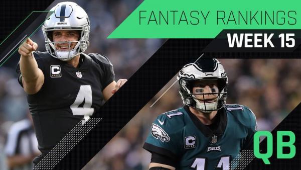 Week 15 QB Fantasy Rankings