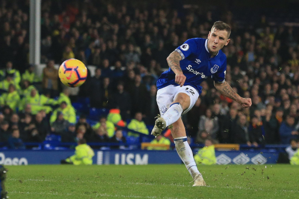 Everton 2 Watford 2: Sublime Lucas Digne free kick denies Hornets their first win at Goodison Park