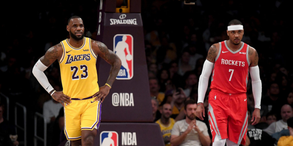 LeBron James Reportedly Wants Carmelo Anthony to Join the Lakers