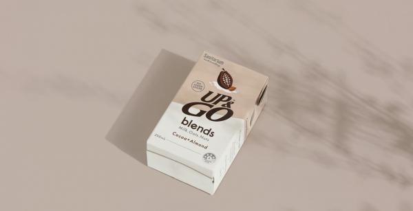 Up & Go Blends Packaging