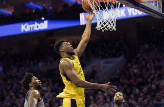 Young, Bogdanovic lead Pacers past 76ers for sixth straight victory