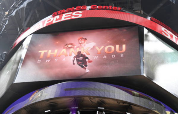 Lakers News: Dwyane Wade Thanks Jeanie Buss, Magic Johnson & Rob Pelinka For Playing Tribute Video At Staples Center