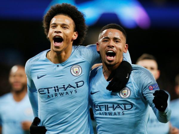 Manchester City vs Hoffenheim: Leroy Sanes goals put City back on track to achieve Champions League glory