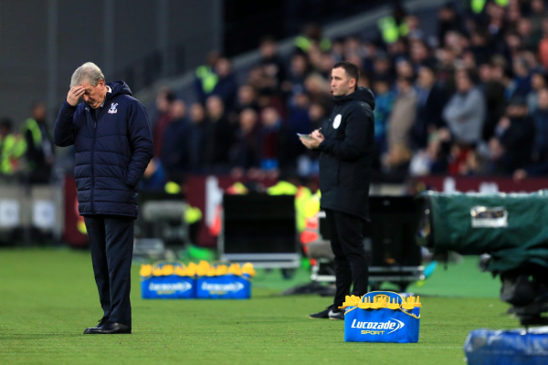 Roy Hodgson bemoans Palace double blow with James Tomkins and Wilfried Zaha to miss Leicester clash