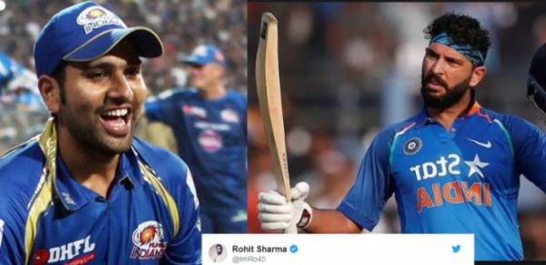 Rohit Sharma's Tweet For Yuvraj Singh On Joining Mumbai Indians Is Winning Hearts On Twitter