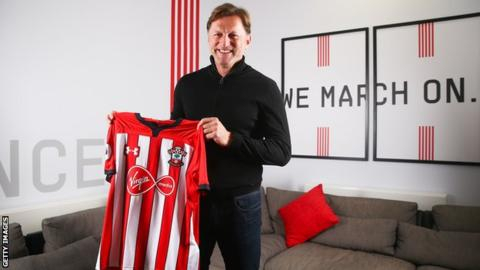 'I want to get my name known' - new Saints boss sets out his targets