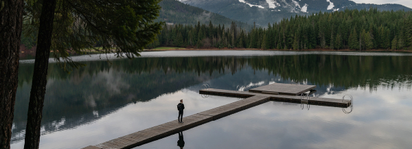 photographer minh T documents nature and architecture at a glass chalet in whistler