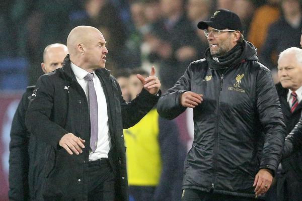 Liverpool boss Jurgen Klopp hits back at Sean Dyche as Burnley row rumbles on