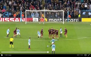 Video: Leroy Sane scores stunning free-kick to equalise for Manchester City vs Hoffenheim