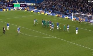 Video: Lucas Digne scores stoppage time screamer to make it Everton 2-2 Watford