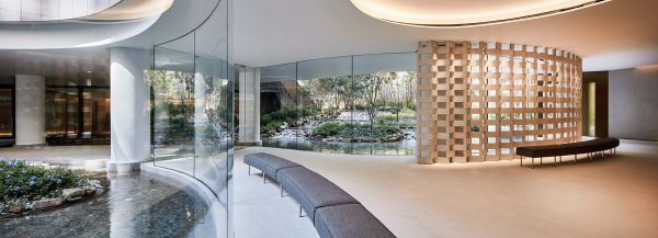 FLEUR PAVILIA offers a lush oasis of tranquil city living in hong kong