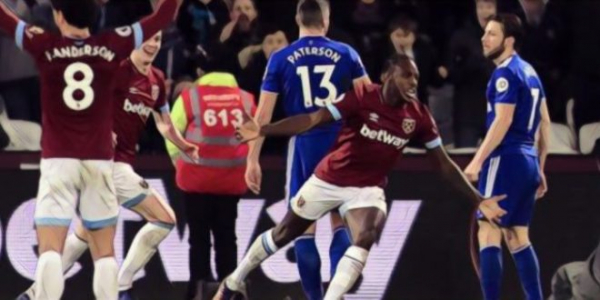 West Ham's Antonio 'buzzing' after 3-1 win over Cardiff