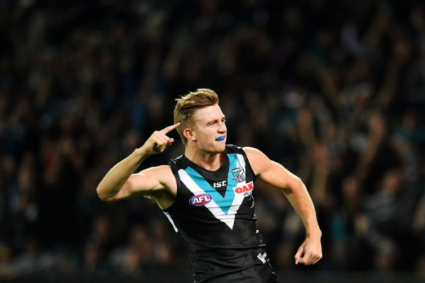 Port Adelaide sign young defender on long-term deal