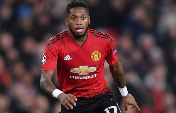 The moment v Fulham that is likely to see Fred remain on Man Utd's bench