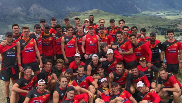 Inside the Suns' brutal six-day New Zealand camp