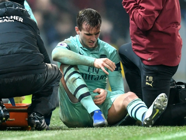 Arsenal dealt injury blow as Holding ruled out for rest of the season