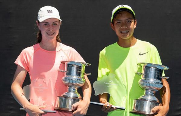 Gibson, Pham win Australian 14/u titles