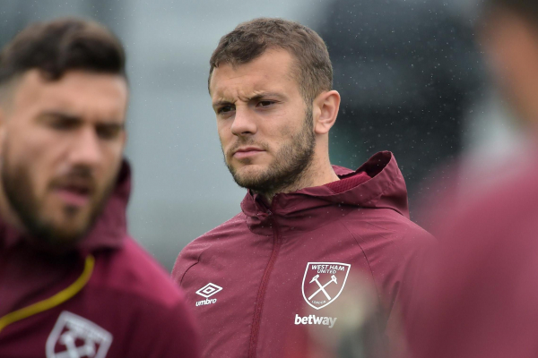 West Ham injury news: Jack Wilshere to miss Fulham clash as he continues ankle recovery