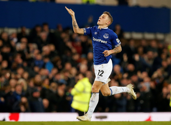 Everton vs Watford: Lucas Digne breaks Hornets hearts with fabulous injury-time free-kick