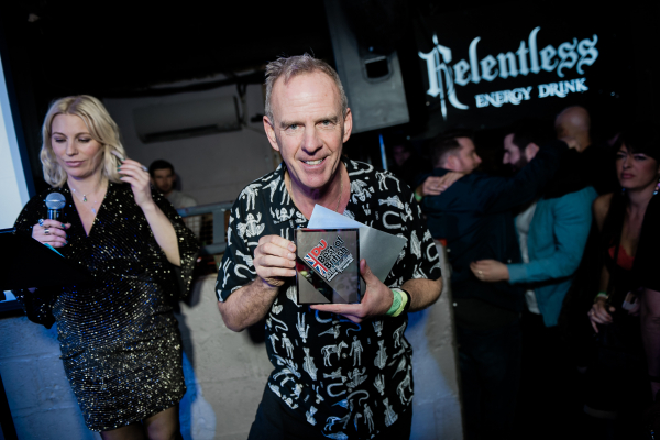 Fatboy Slim wins Outstanding Contribution award at DJ Mag Best Of British awards ceremony 2018