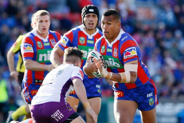 Knights prop breaks leg after being punched on night out