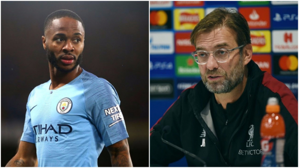Liverpool manager Jurgen Klopp 'not surprised' at alleged racial abuse towards Man City's Raheem Sterling