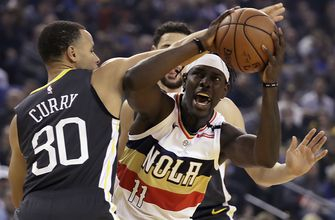 Stephen Curry scores 41 points as Warrior hold off Pelicans