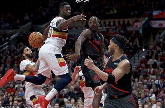 Lillard leads Trail Blazers to 128-112 win over Pelicans