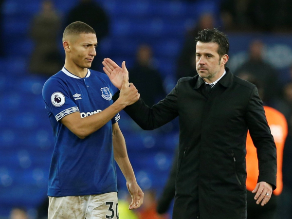 Marco Silva praises his players personality after Everton see off valiant Bournemouth