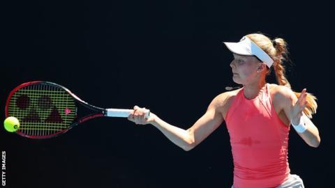 Dart to play Sharapova in Australian Open first round