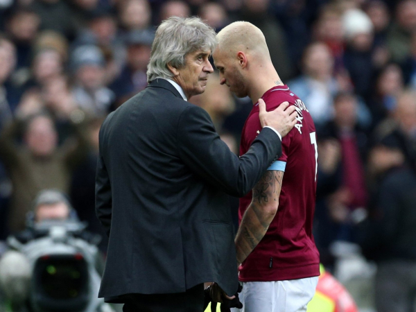 West Ham transfer news: Marko Arnautovic will not leave in January unless Manuel Pellegrini says he can