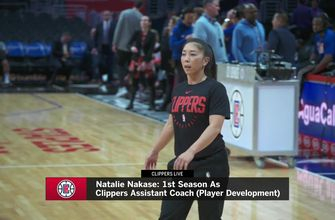Assistant coach Natalie Nakase is making an impact on the Clippers | #ClippersLive