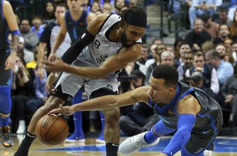 Spurs rally from 19 down, beat Mavs 105-101