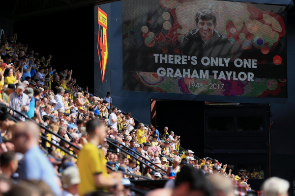 Watford fans to toast Graham Taylor before Burnley match on anniversary of club legends death