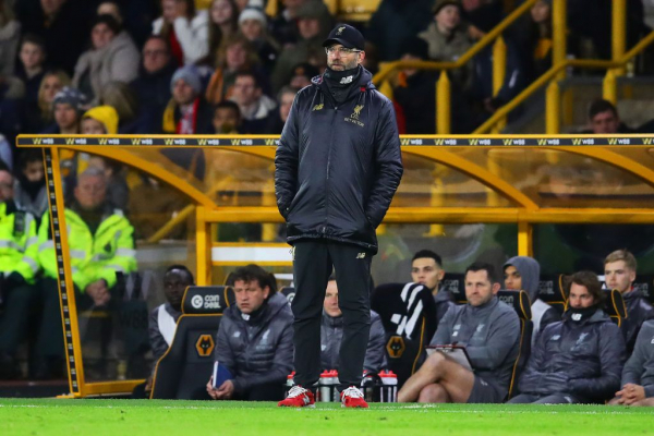 Pep Guardiola aims sly dig at Jurgen Klopp over Liverpool's FA Cup exit to Wolves