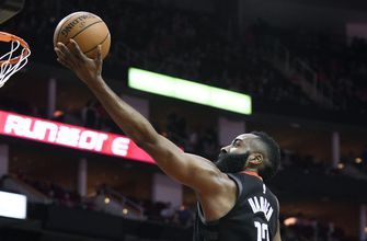 James Harden, Rockets overwhelm lowly Cavaliers, 114-113