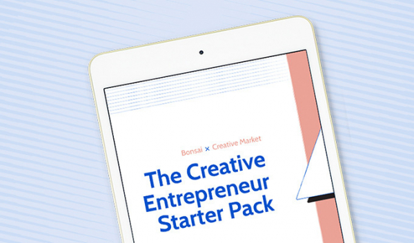 Free Ebook: The Creative Entrepreneur's Starter Pack with Bonsai