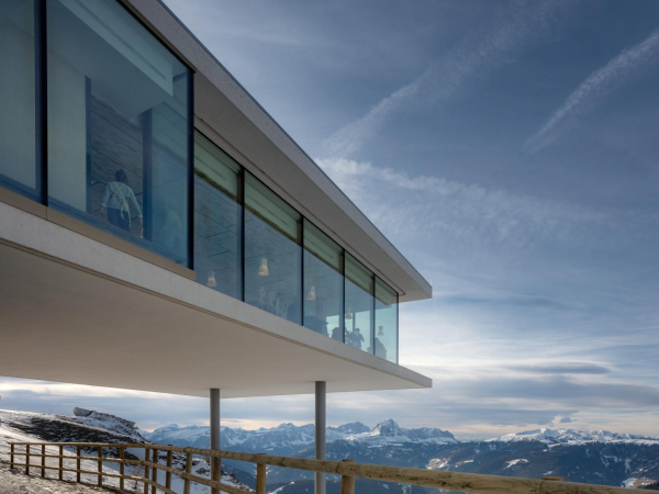 Mountain-top photography gallery the Lumen Museum opens in the Italian Dolomites