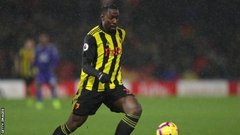 Stefano Okaka: Watford and Italy striker joins Udinese on loan