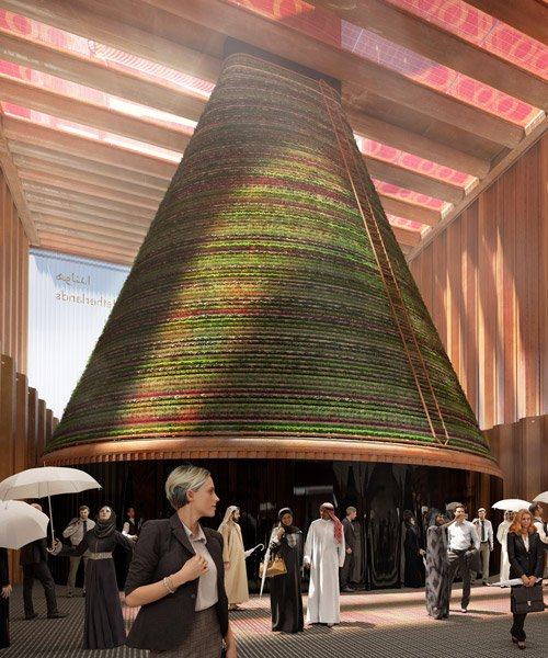 V8 architects reveals winning design of dutch pavilion for expo 2020 dubai