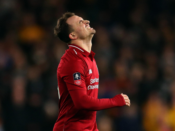 Xherdan Shaqiri insists Liverpool did not deserve to lose to Wolves and tumble out of FA Cup