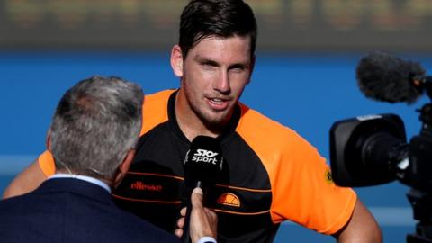 Cameron Norrie beats Jan-Lennard Struff to reach first ATP final in Auckland